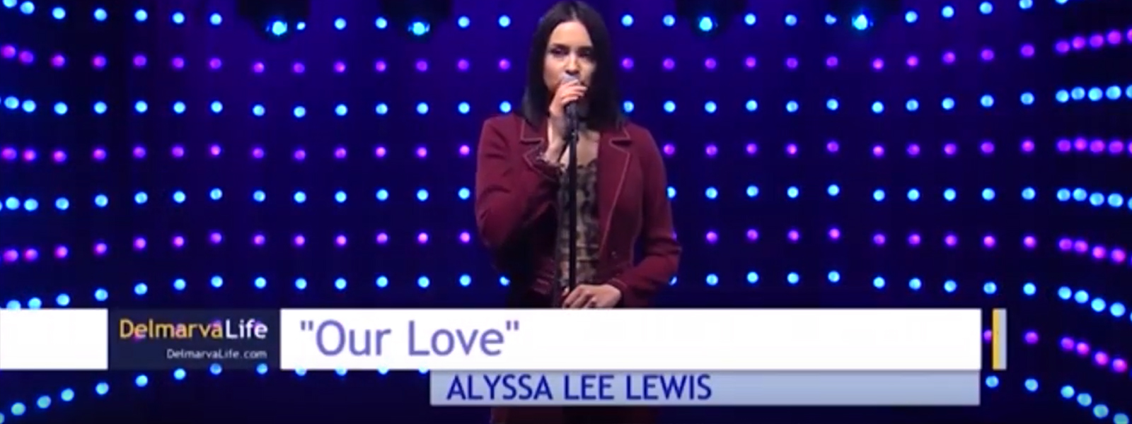 Alyssa Lee Lewis Performs On Delmarva Life Show - Realize